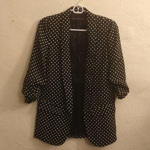 Zara Woman Polka Dots Blazer XS